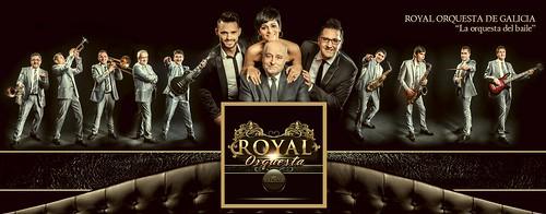 Royal Orquesta de Galicia - orquesta - cartel