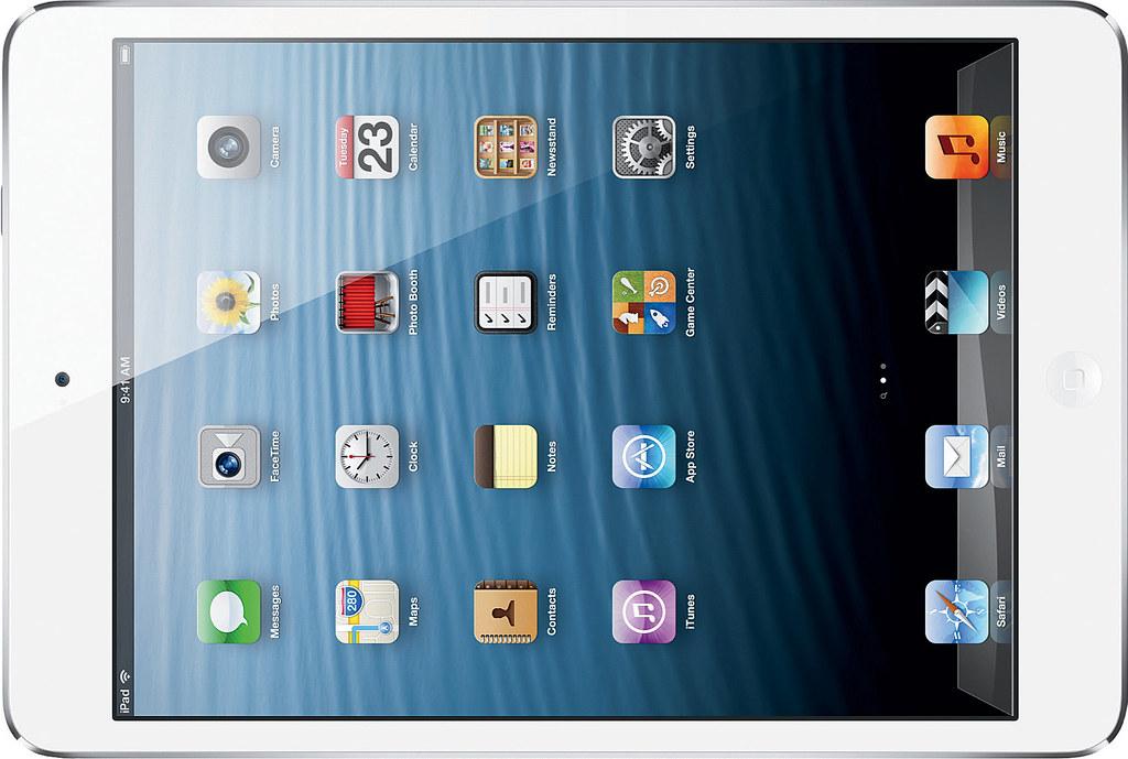 iPad mini Retina 実物大の製品画像1