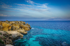 Viewpoint at Favignana Island, Sicily (Italy)
