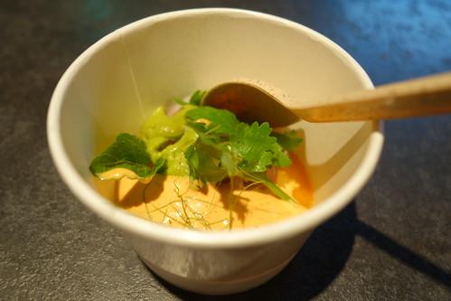 Kiin Kiin's Frozen Red Curry with Prawn & Coriander Salad