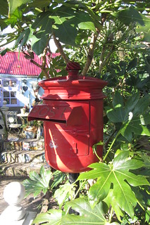 Postbox at The Love Shack, Eel Pie Island
