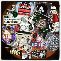 GLASS CUISINE #stickershock  #exhibition #submission #jerrygarcia #wherestheacid love the stickers, thanks for the pack!