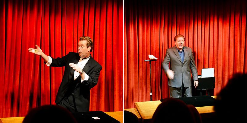 Comedian-Magicians