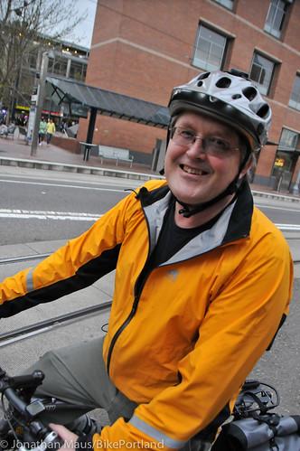 Bike Advisory Committee rides downtown-14
