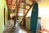Hallway and Stairs Jungle House by Joe Gatto Costa Rica