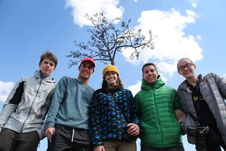 Team #TGSTohoku with the Ipponmatsu, the miracle lone pine (Rikuzentakata, Japan)
