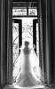french door bridal silhouette