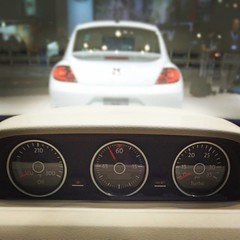 Ready for the track. #VWBeetle R-Line #VWNYIAS #NYIAS - photo from vw