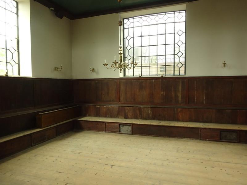 Quiet corner in Portuguese Synagogue