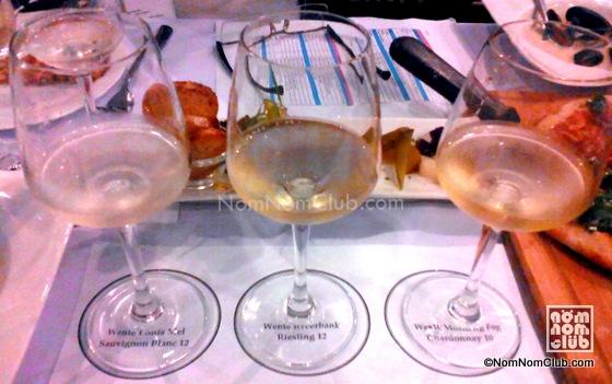 Sauvignon Blanc, Reisling, & Chardonnay