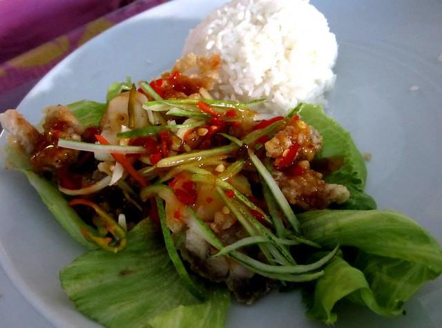 Lotus Cafe, Miri - Thai chciken & rice