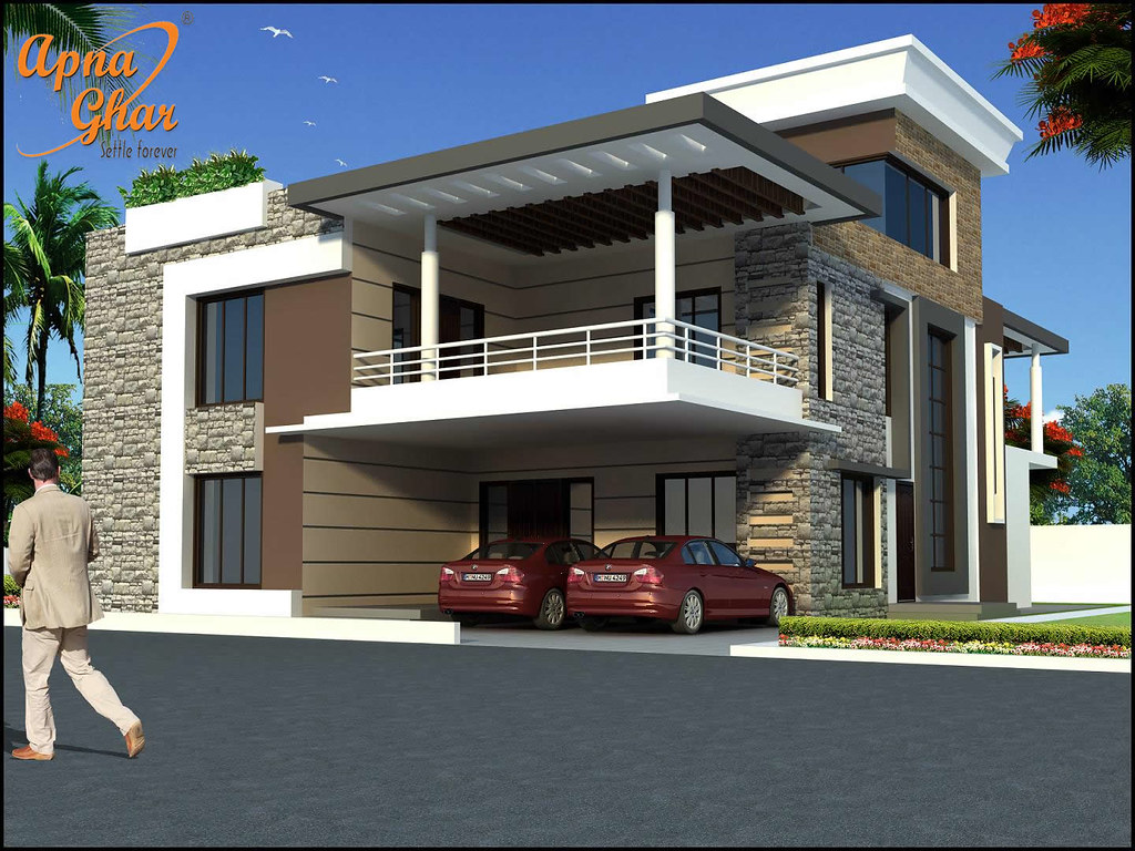 14071923194 d287fb3190 b - 16+ Modern Small Duplex House Designs And Pictures Gif