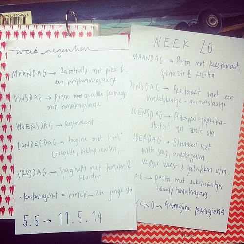 Week 19 en 20