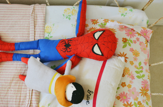 she loves spidey