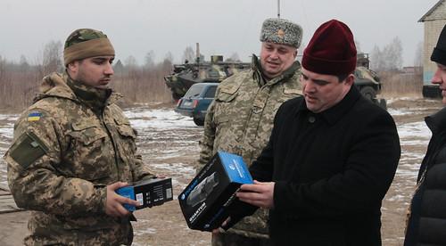 Подарували тепловізор для воїнів