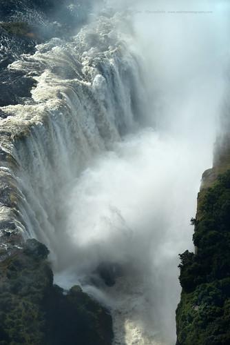 africa nature water landscape waterfall scenic aerial zimbabwe victoriafalls zambeze zedith