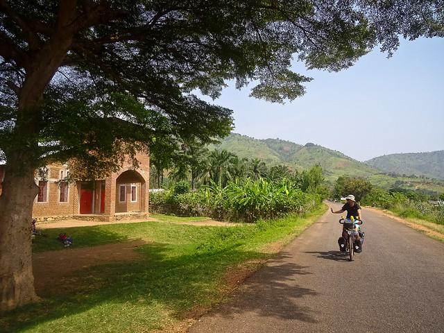 Mission beside Lake Tanganyika
