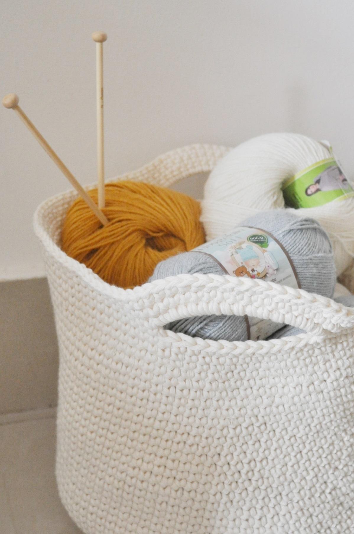 crochet basket vintage peony (2)