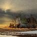 Winter Barn # 90 by Mike Linnihan