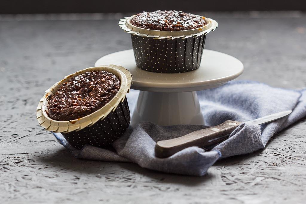 vegane Muffins mit kokosblütenzucker