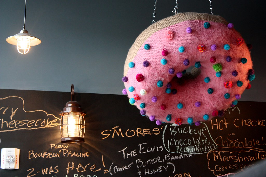 Sugar Shack Hanging Donut