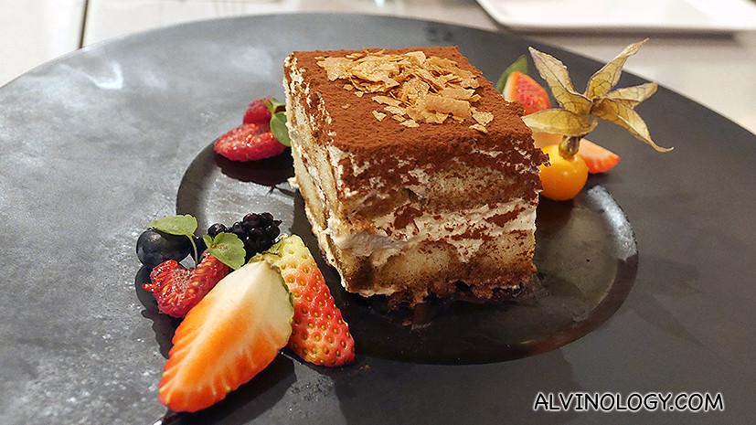 Dolci - Tiramisu (S$16): Classic Italian coffee liqueur chocolate cake