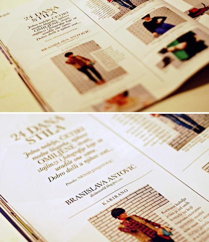 24 dana stila sa Branislavom Antovic u magazinu Elle Serbia