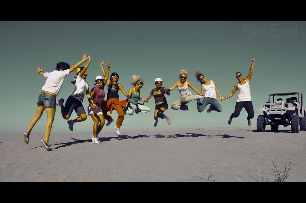 All-Girl Jump