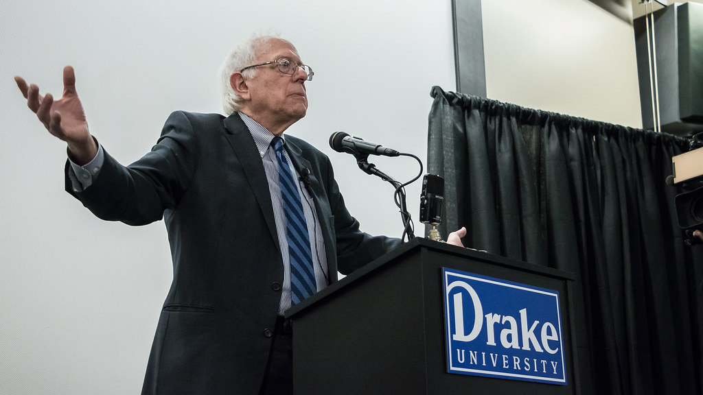 Senator Sanders says maybe he'll run for President
