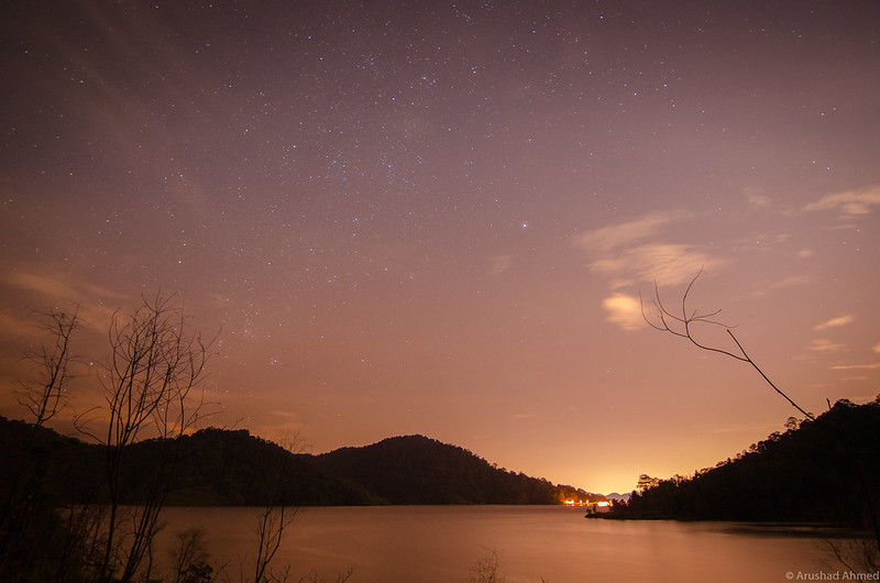 Semenyih Dam at Night