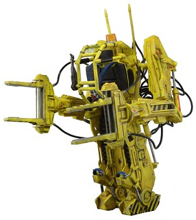 NECA 異形2【雷普莉 & 工程機器人】Power Loader P-5000 超豪華載具組合包