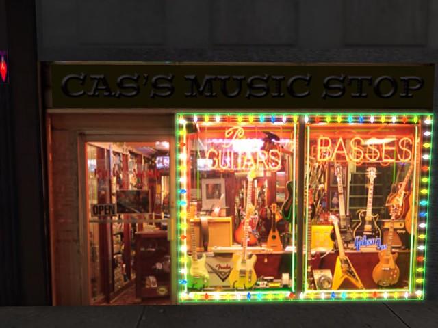New York City - Cas's Music Stop Evening