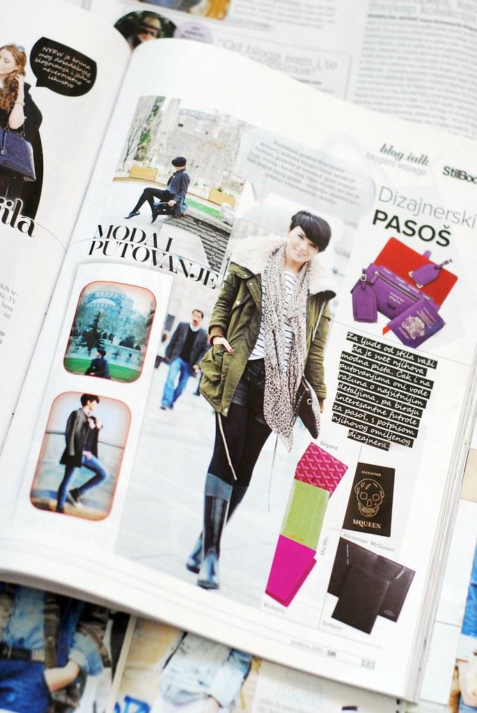 Branislava Antovic o modi i putovanju za magazin Stilbook