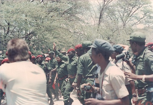 Jonas Savimbi crowd
