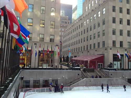 Rockefeller Center, The Rink. NYC. Nueva York