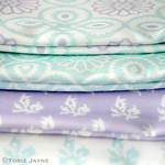 Torie's fabric from Spoonflower