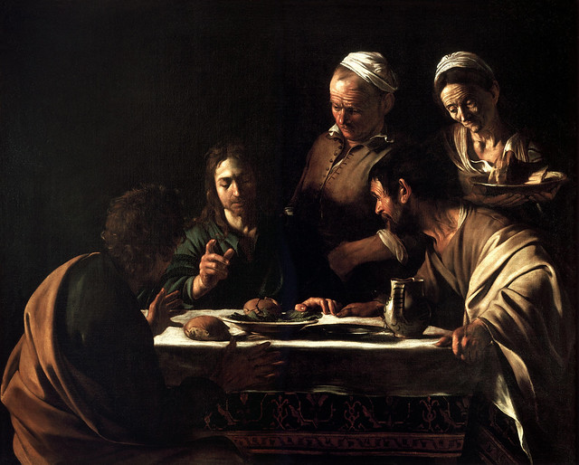 caravaggio_-_supper_at_emmaus_1606_oil_painting_141x175cm_pinacoteca_di_brera_small