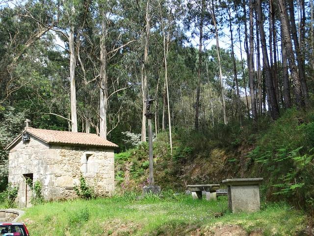 Capilla de Guadalupe de Casás en A Pobra do Caramiñal