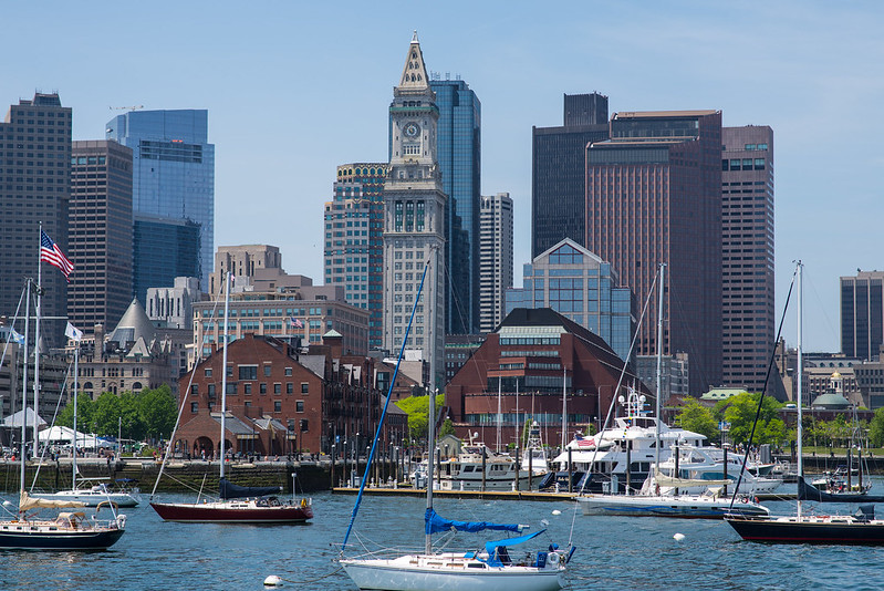 Boston from Harbor