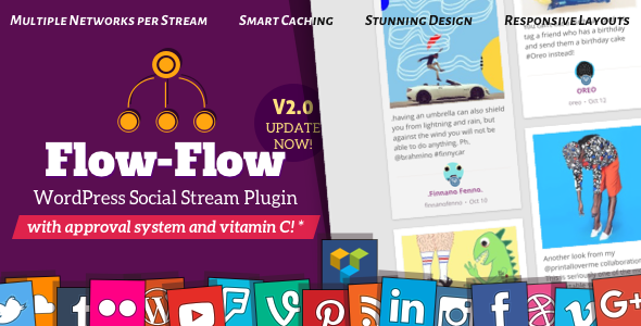 Flow-Flow v2.10.3 - Social Streams for WordPress