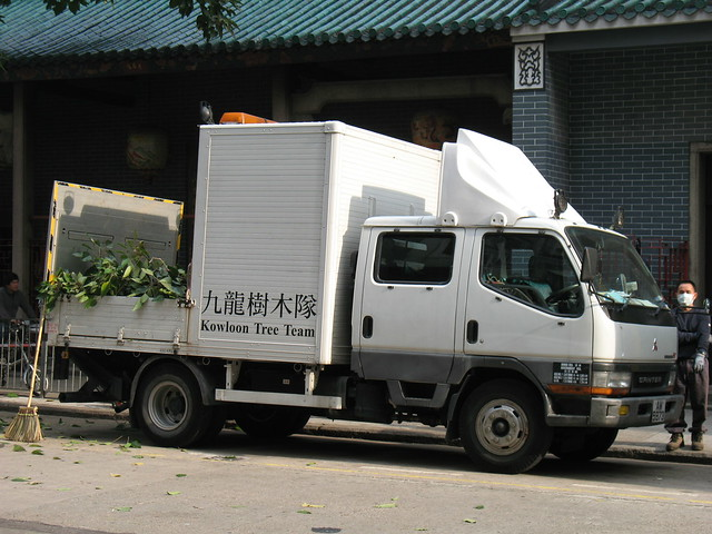 Mitsubishi Fuso Canter Semi-Covered Lorry