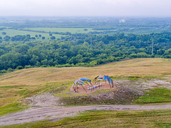 Wickiup on the hilltop at Pearsall Park