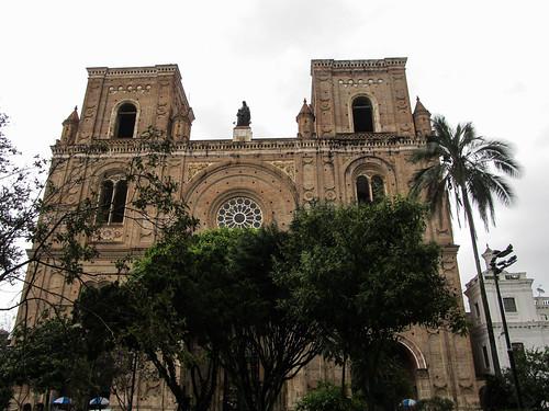 Cuenca: la Nouvelle Cathédrale, la Cathédrale de l'Immaculée Conception