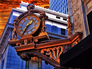 Pittsburgh Pennsylvania  ~ Kaufmanns Department Store ~ Clock