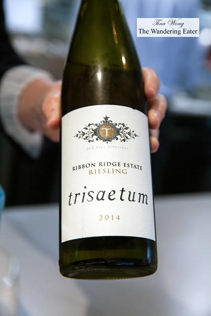 Trisaetum, 2014 Ribbon Ridge Dry Riesling