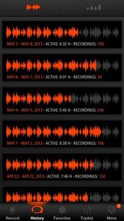 Ook een record verbroken met sleeptalk, 708 recordings..