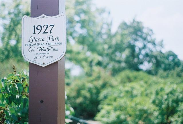 Lilacia Park in Lombard.