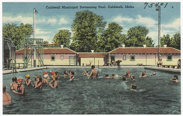 Caldwell Municipal Swimming Pool Caldwell Idaho Flickr Photo Sharing