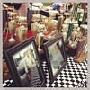 Trophies ready to be given out for the World Steak Cook-off...
