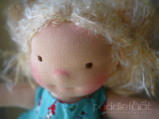 "March CUSTOM Doll Deposit: 12"" Puddlefoot Doll"